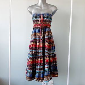 2 for $55 2 way crop dress or skirt bohemian style